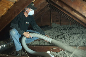 Cellulose Insulation Installation In Eastern SC