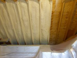 Spray Foam Insulation Installed In Bluffton